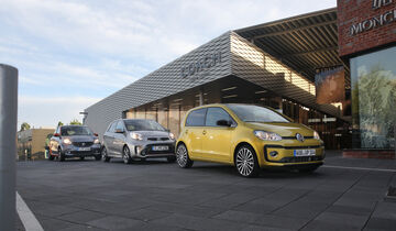 Kia Picanto 1.2, Smart Forfour 0.9, VW Up 1.0 TSI,