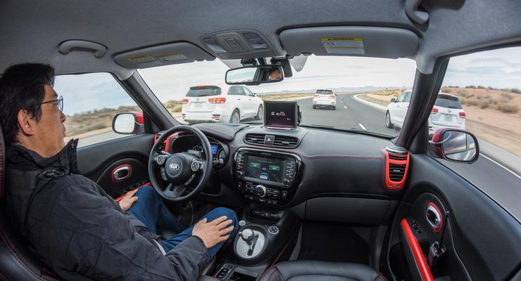 Kia Soul EV, autonomes Fahren, Kia Drive Wise, CES 2016, Las Vegas