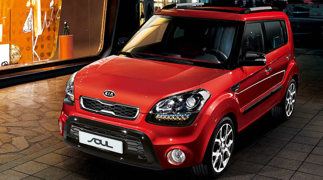 Kia Soul Facelift 2011 IAA