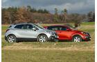 Kia Sportage 1.7 CRDi, Opel Mokka 1.7 CDTi, Seitenansicht