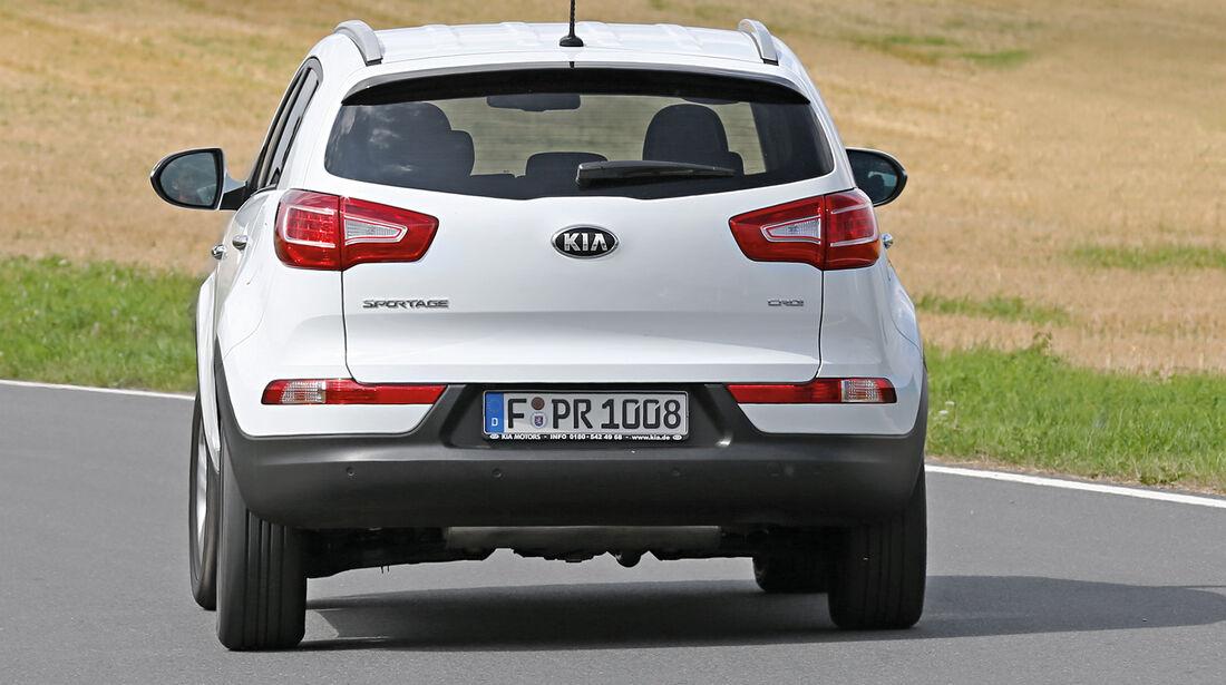 Kia Sportage 2.0 CRDi 4WD Vision, Heckansicht