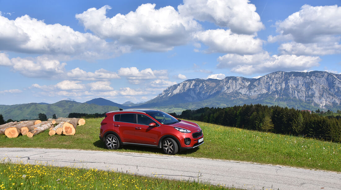Kia Sportage 2.0 CRDi AWD, Exterieur