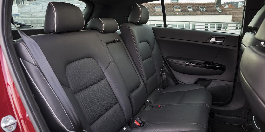 Kia Sportage 2.0 CRDi AWD, Interieur