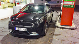 Kia goes Electric, Kia Niro PHEV, lesertestdrive