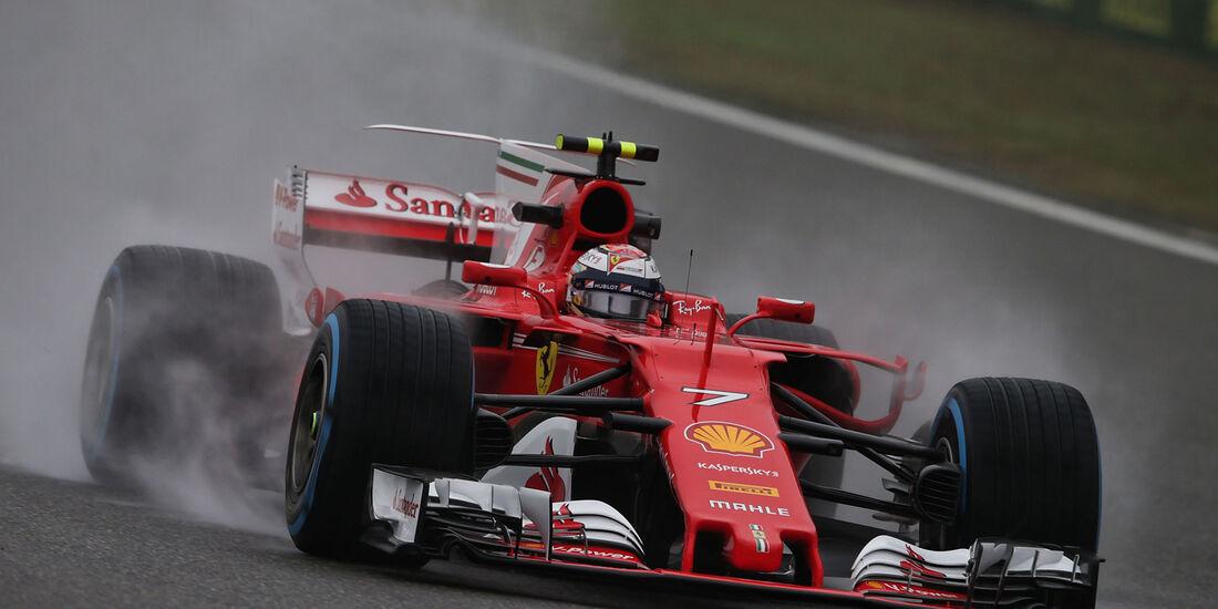 Kimi Räikkönen - Ferrari - Formel 1 - GP China 2017 - Shanghai - 7.4.2017