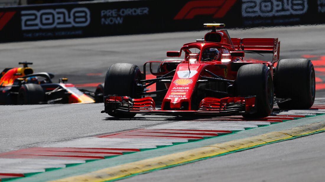 Kimi Räikkönen - Ferrari - Formel 1 - GP Österreich - 1. Juli 2018