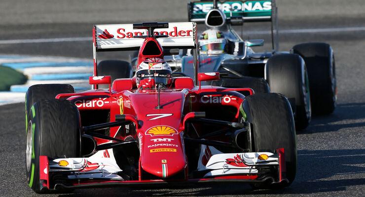 Kimi Räikkönen - Ferrari - Formel 1 - Jerez - 2015
