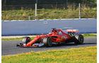 Kimi Räikkönen - Ferrari - Formel 1 - Test - Barcelona - 2. März 2017