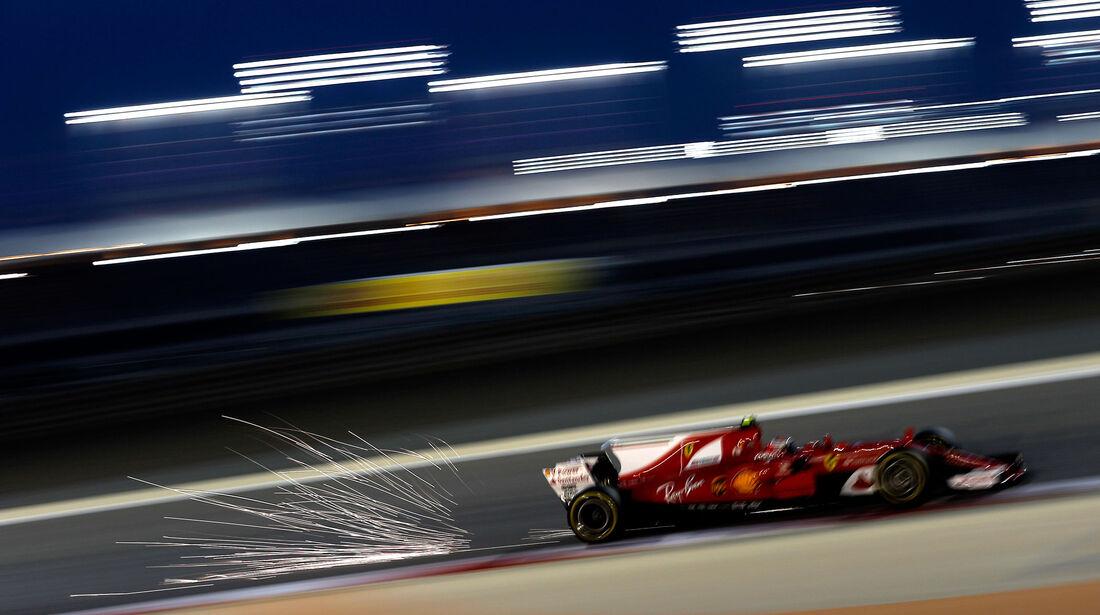 Kimi Räikkönen - Ferrari - GP Bahrain 2017 - Qualifying