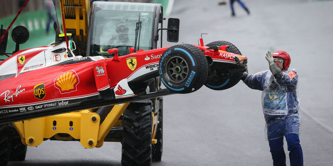 Kimi Räikkönen - Ferrari - GP Brasilien 2016 - Interlagos - Rennen