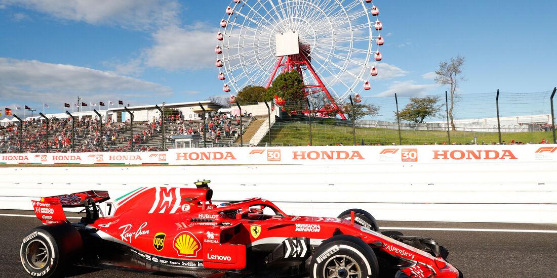 Kimi Räikkönen - Ferrari - GP Japan 2018 - Suzuka - Rennen