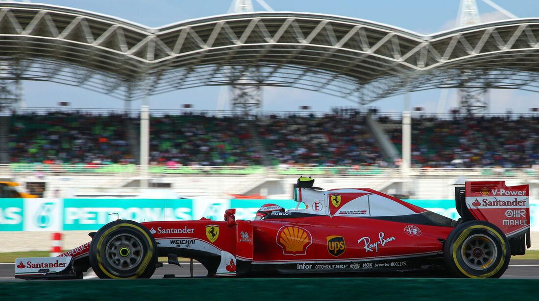 Kimi Räikkönen - Ferrari - GP Malaysia 2016 - Sepang