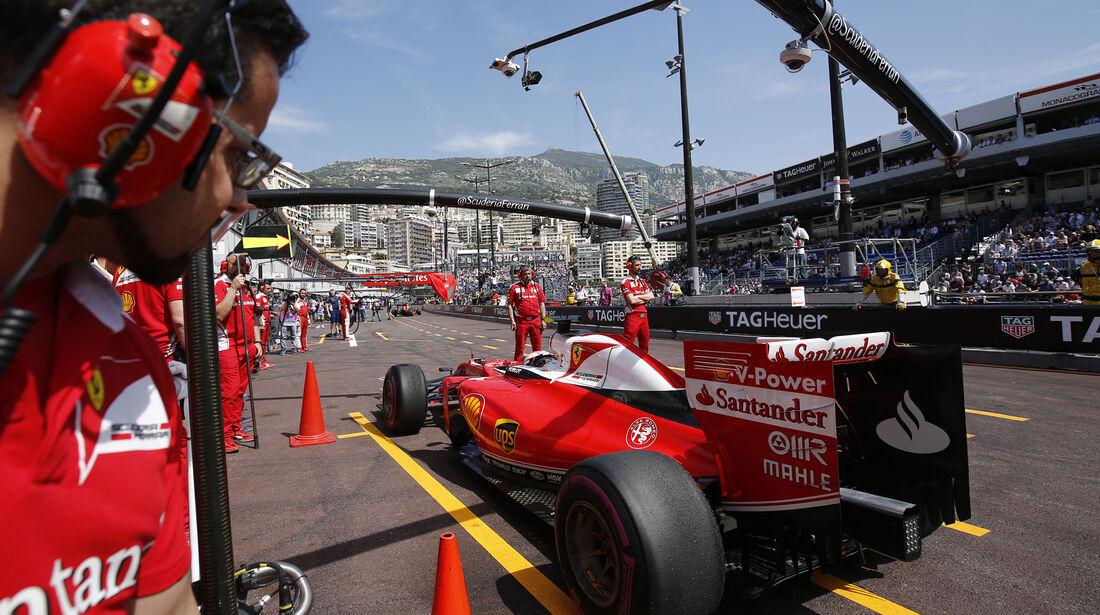 Kimi Räikkönen - Ferrari - GP Monaco - Formel 1 - 28. Mai 2016