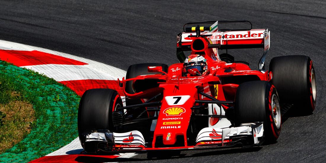 Kimi Räikkönen - Ferrari - GP Österreich - Spielberg - Formel 1 - Freitag - 7.7.2017