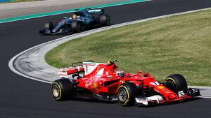 Kimi Räikkönen - Ferrari - GP Ungarn 2017 - Budapest