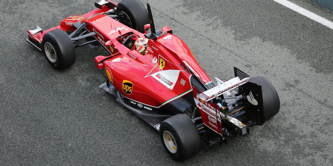 Kimi Räikkönen - Ferrari - Jerez - Formel 1 - Test - 29. Januar 2014