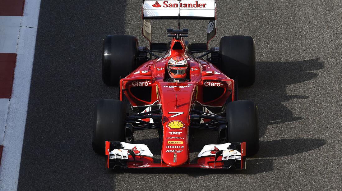 Kimi Räikkönen - Ferrari - Pirelli-Test - Abu Dhabi