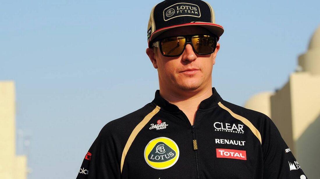 Kimi Räikkönen - Formel 1 - GP Abu Dhabi - 01. November 2012