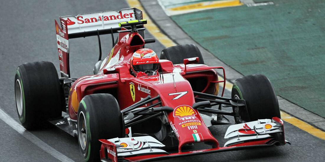 Kimi Räikkönen  - Formel 1 - GP Australien - 15. März 2014