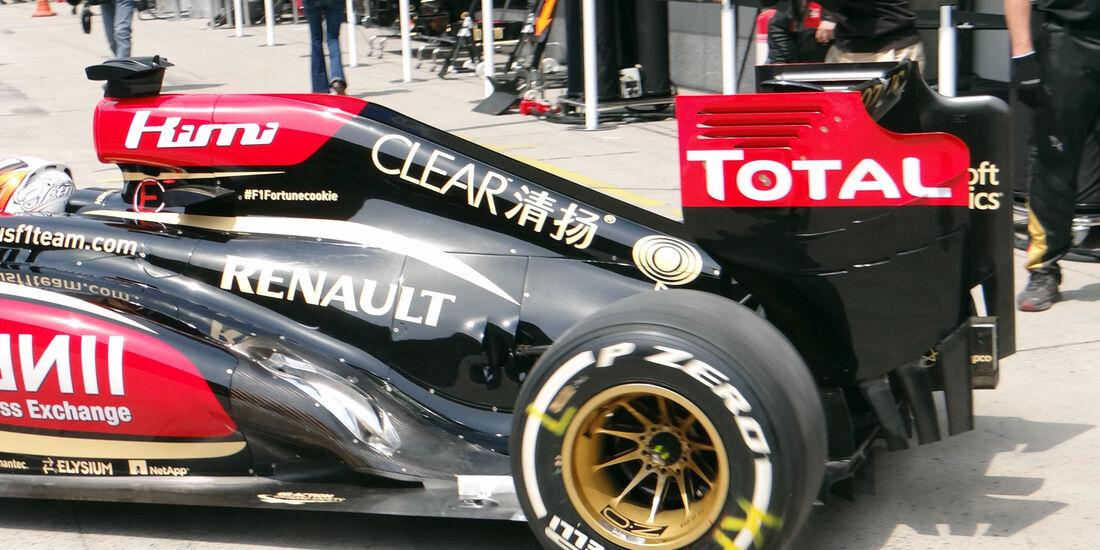 Kimi Räikkönen - Formel 1 - GP China - 12. April 2013