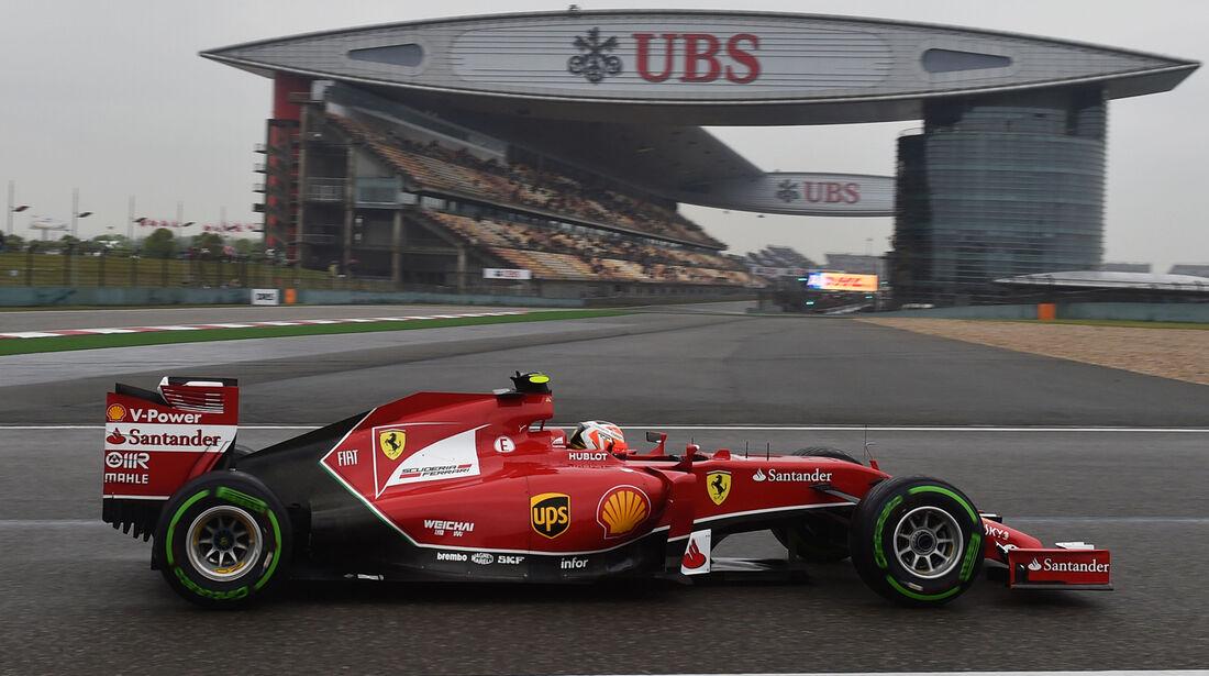Kimi Räikkönen - GP China 2014