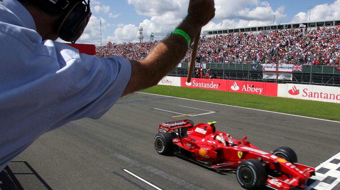Kimi Räikkönen - GP England 2007