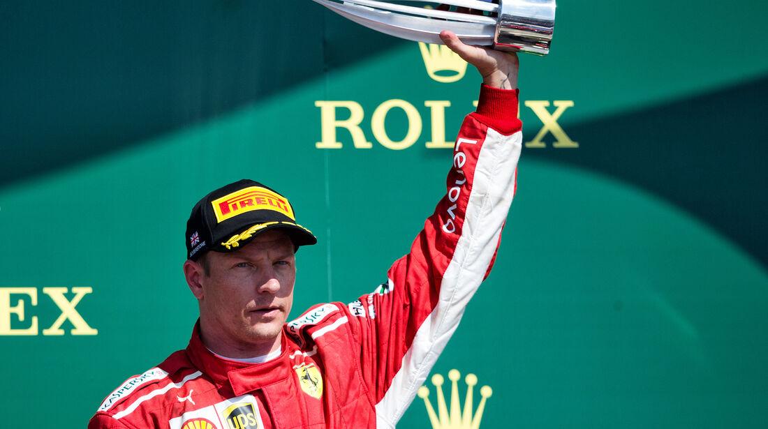 Kimi Räikkönen - GP England 2018