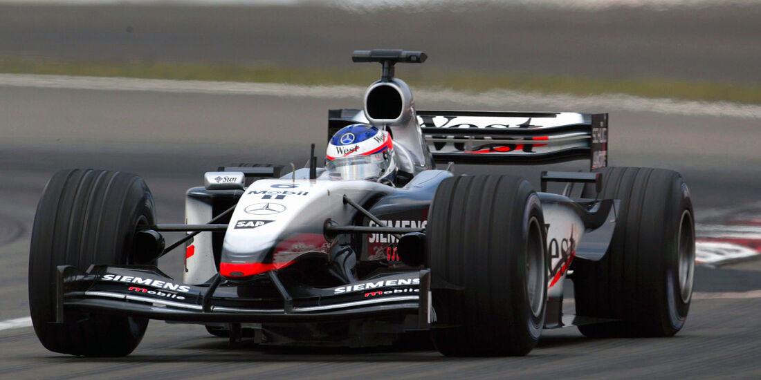 Kimi Räikkönen - GP Europa 2003