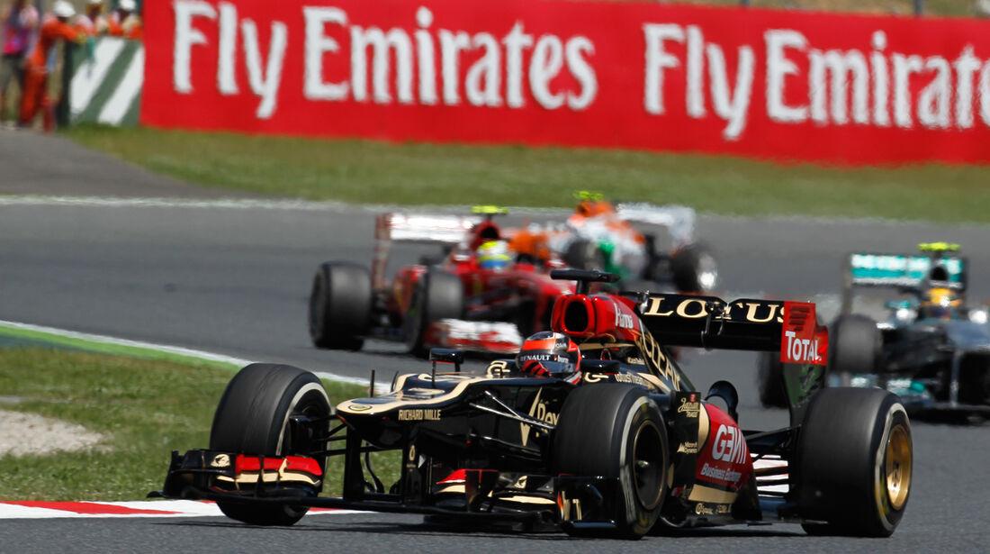 Kimi Räikkönen GP Spanien 2013