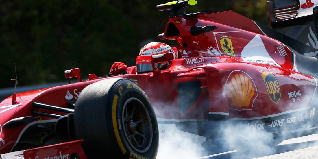 Kimi Räikkönen - GP Ungarn 2014