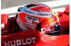 Kimi Räikkönen - Jules Bianchi-Tribute - GP Russland 2014