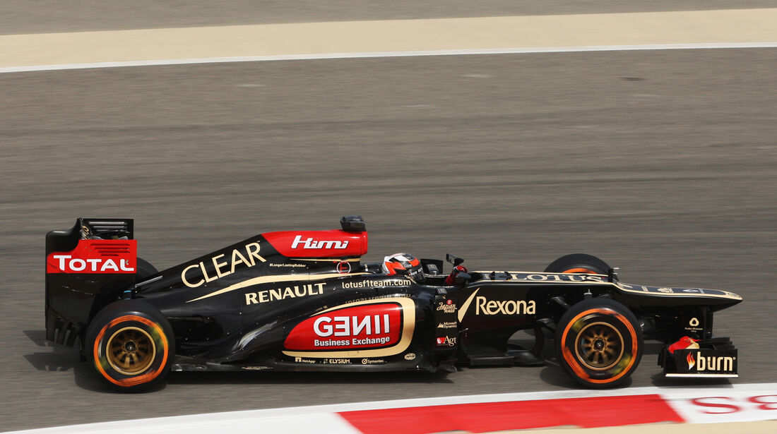 Kimi Räikkönen - Lotus - Formel 1 - GP Bahrain - 19. April 2013