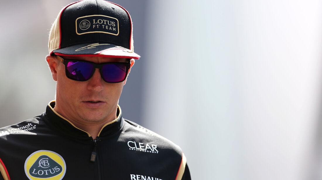 Kimi Räikkönen - Lotus - Formel 1 - GP Deutschland - 5. Juli 2013
