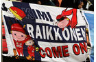 Kimi Räikkönen-Plakat - GP China 2014