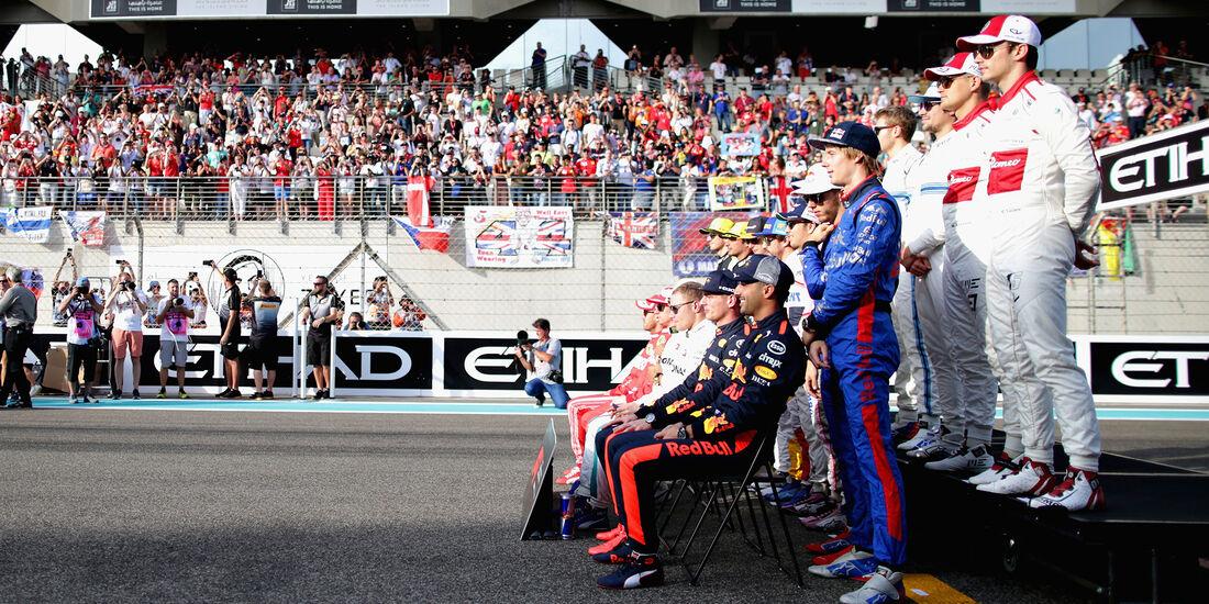 Klassenfoto - GP Abu Dhabi 2018