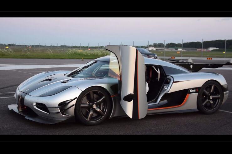 Koenigsegg One 1 Mit Neuem 0 300 0 Km H Rekord Auto