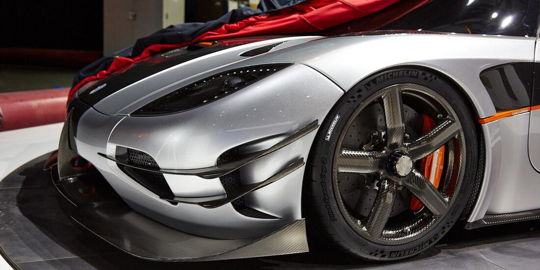 Koenigsegg One:1, Genfer Autosalon, Messe, 2014
