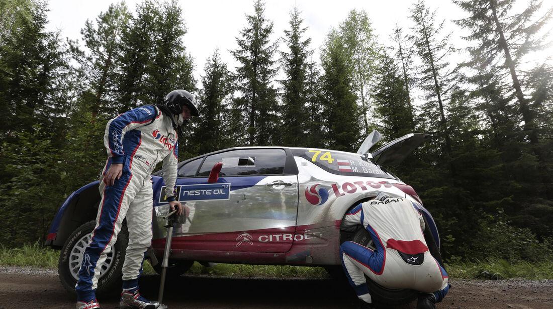 Kubica - Rallye Finnland 2013