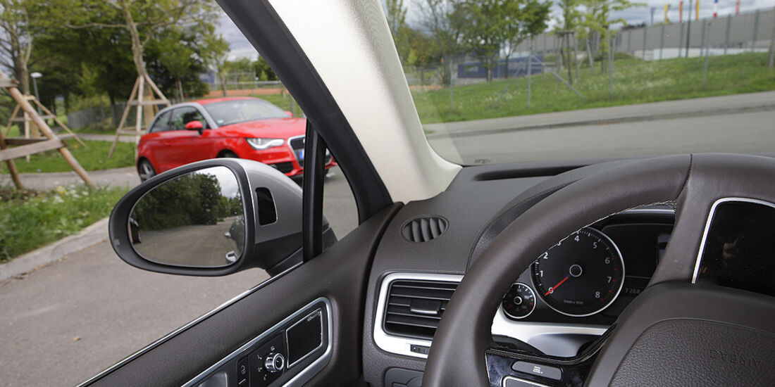 Kurvensicht, VW Touareg