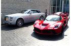 La Ferrari & Rolls Royce Phantom - GP Abu Dhabi - Carspotting 2015