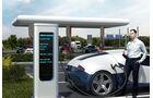 Ladestation 350 kW Elektroauto