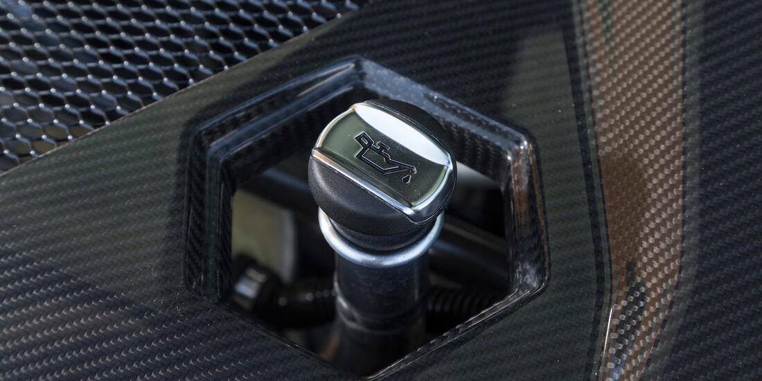 Lamborghini Aventador LP 700-4 Roadster, Öldeckel