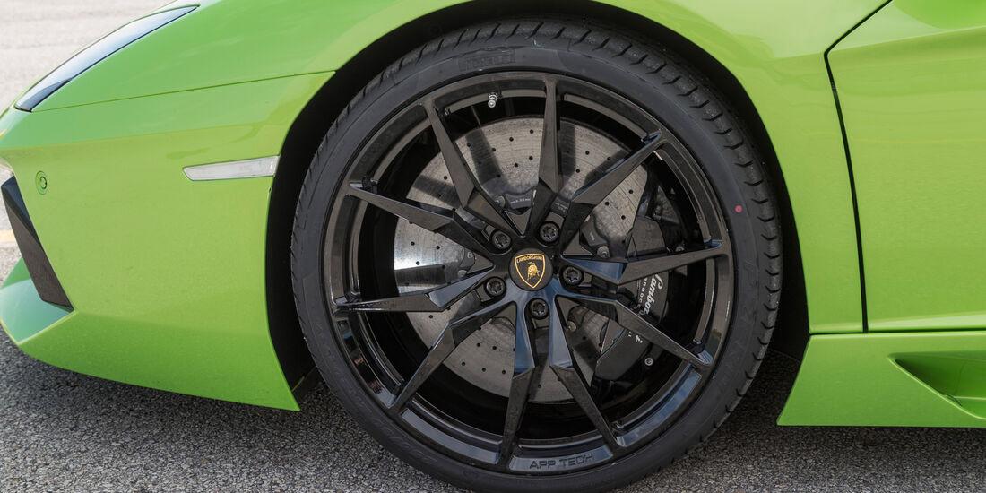 Lamborghini Aventador LP 700-4 Roadster, Rad, Felge