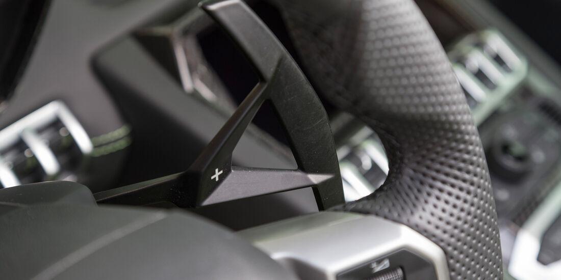 Lamborghini Aventador LP 700-4 Roadster, Wippschalter
