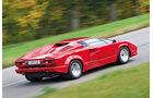 Lamborghini Countach, Seitenansicht