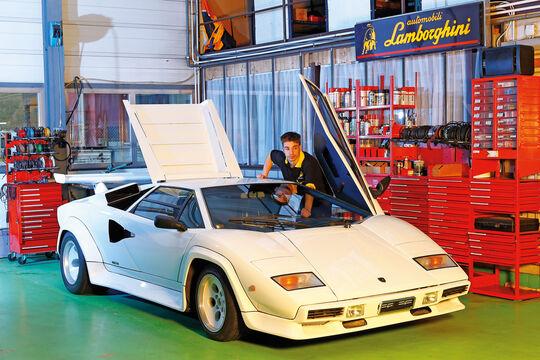 Lamborghini Countach, Werkstatt