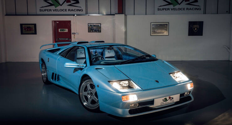 lamborghini diablo sv in ice blue zu verkaufen auto motor und sport. Black Bedroom Furniture Sets. Home Design Ideas