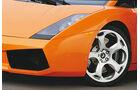 Lamborghini Gallardo Coupé, Rad, Felge, Frontscheinwerfer