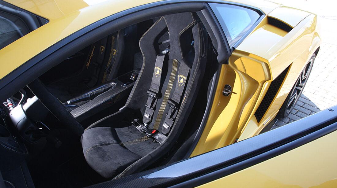 Lamborghini Gallardo Innenraum