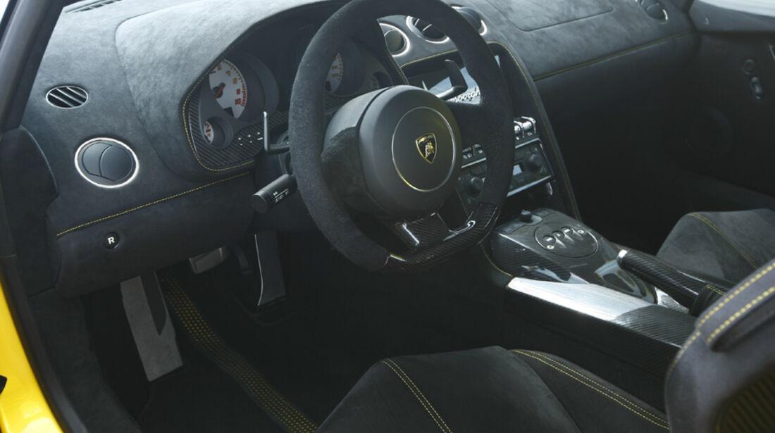 Lamborghini Gallardo SL, Innenraum